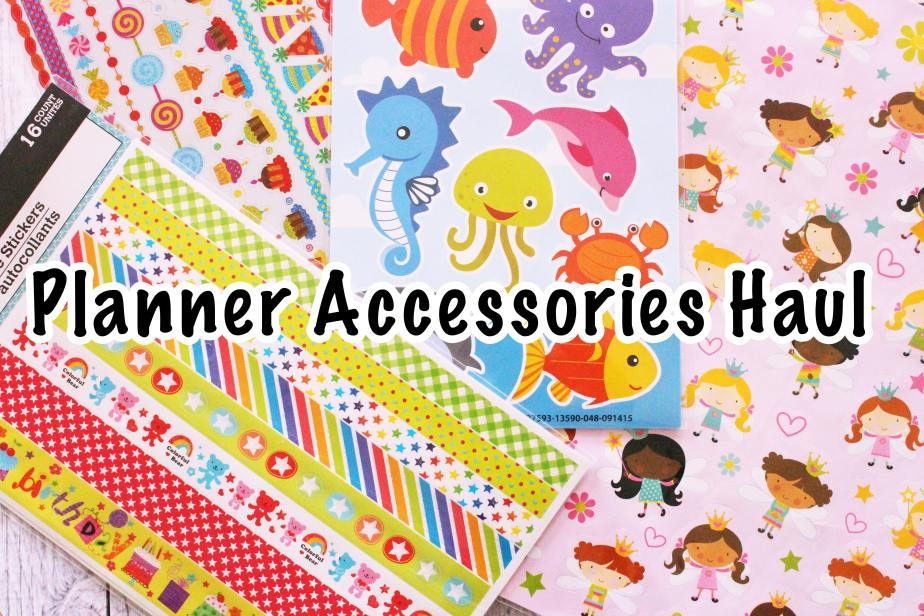 Planner Haul – Dollar Tree Edition!